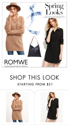 """Romwe 7"" by amelaa-16 ❤ liked on Polyvore featuring H&M and romwe"