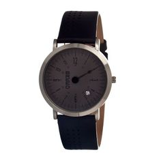 Men's Breed Kimble Watch with Unique Design - Gray Cool Watches, Watches For Men, Wrist Watches, Beyond The Rack, New Arrival Dress, Hand Designs, Tech Accessories, Black Silver, Mens Fashion