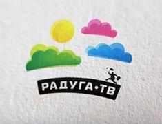 Логотип Спутникового оператора Радуга ТВ, Logo of the Satellite operator Raduga TV