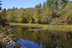 Saco River in Fryeburg Maine