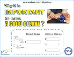 Why it is important to have a good cleave? It is very important to cleave the fiber properly in order to get good fiber optic splices or terminations. You waste a lot time when you have a bad cleave, you have to do again. When the cleaver is bad, many time, it takes longer to splice or the test results are bad. Therefore having a good cleaver is a good investment.