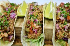 Delicious Tacos! 🌮 😋 Tex Mex, Tacos, Mexican, Ethnic Recipes, Food, Restaurants, Essen, Meals, Yemek