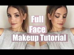 Full Face Makeup Tutorial | Everyday & Natural Looking! - YouTube loving this tutorial it's very good especially for anybody just starting to wear make up