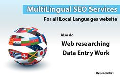 provide 20 Multilingual SEO services by seoranks1