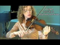(ME: I still have issues changing strings....)Violin Lesson: String Crossings (Spanish subtitles)
