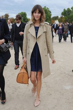 Alexa Chung and Valentino Studded Flat Sandals