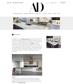 2016 Architectural Digest - 17 Convenient Ready-Made Kitchens for an Easy Home Renovation | These top kitchen brands let you choose your surfaces, your shelving—even your wine fridge—all in one fell swoop | Click on pin to read article |  #SnaideroUSA