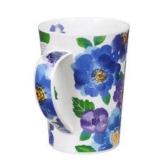 Dunoon Palermo Blue Argyll Shape Mug   Temptation Gifts