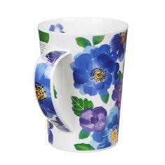 Dunoon Palermo Blue Argyll Shape Mug | Temptation Gifts