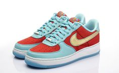 Laid Back Stil Kinder Nike Blau Dunks High Superman