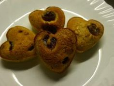 Pistachio and Cherry financiers