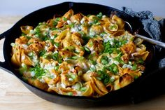 skillet-baked pasta with five cheeses – smitten kitchen