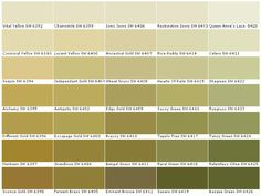 sherwin williams sw6392 vital yellow sw6393 convivial on benjamin moore color chart visualizer id=59271