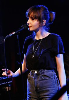 Lauren Mayberry I met her literally she is tiny and SO NICE