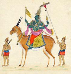 Vāyu (Sanskrit: , IAST: Vāyu, Sanskrit pronunciation: [ʋɑːyu]; Malay: Bayu, Thai: พระ พาย (Phra Phai)) is a primary Hindu deity, the Lord of the winds, the father of Bhima and the spiritual father of Lord Hanuman. He is also known as Vāta (), Pavana (, the Purifier), [2] and sometimes Prāa (, the breath).