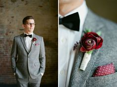 Venue: www.thegreenbuildingnyc.com | Preppy Autumn Wedding Inspiration - Green Wedding Shoes