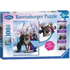 100 piece Frozen Puzzle!