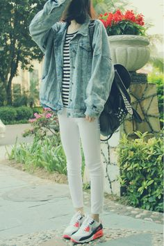 Yes, Asian Street Fashion -casual always works