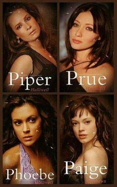 Phoebe, Prue, & Piper Halliwell Paige Matthews-Charmed