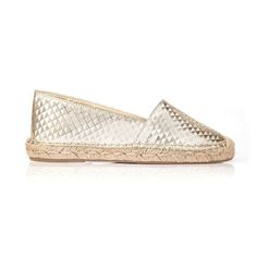 Not just for the beach.  Gold vegan espadrilles and  by @beyondskin