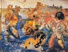"""""""Tuna Fishing"""" Salvador Dali 1967"""