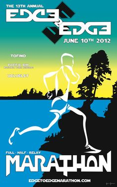 Edge 2 Edge Marathon (Uclulet, Pacific Rim National Park Reserve, Tofino) : Another one on my to do list!