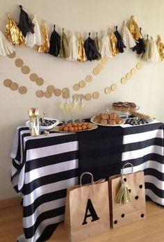 decoraciones-de-fiestas-dorado-negro