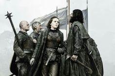 Asha Greyjoy, on her way to rescue Theon