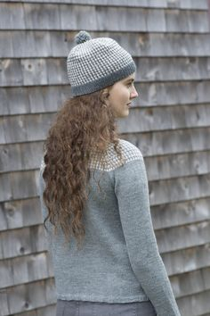 heidi hat / from slip stitches, a collection by carrie bostick hoge / in quince & co. chickadee