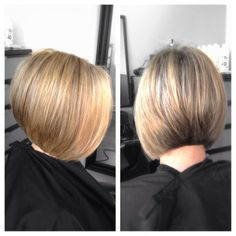 #ShareIG #highlights and a #haircut ! This is how a #bob should fall, no matter how you swing it around