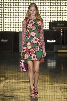 House of Holland's S/S 15 Collection Redefines Flower Power via @WhoWhatWear