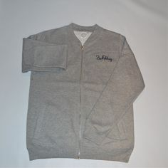 Image of Grey - bomber Tracksuit W/ Trousers