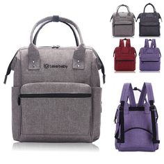 Water Resistant Baby Diaper Bag Backpack Changing Bag Nappy Mummy Travel Bags | Clothing, Shoes & Accessories, Women's Handbags & Bags, Diaper Bags | eBay!