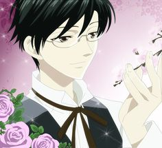 Kouya from Ouran High School Host Club is almost exactly how I picture Cole.
