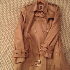 Juicy Couture trench coat. Perfect for Spring rain.