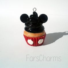 Mickey Mouse Disney Polymer Clay Charm made by FarCreations