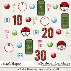Layout using {Hello December} Digital Dates by Digilicious Design and Meghan Mullens available at Sweet Shoppe Designs http://www.sweetshoppedesigns.com/sweetshoppe/product.php?productid=29482&page=1 #digiscrap #digitalscrapbooking #digiliciousdesign #meghanmullens #hellodecember