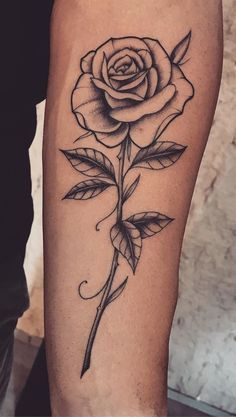 55 beautiful rose tattoo ideas - tattoo design for women. - 55 beautiful rose tattoo ideas – tattoo design for women. Single Rose Tattoos, Rose Tattoos For Women, Rose Flower Tattoos, Tattoo Designs For Women, Tattoos For Guys, Rose Tattoo On Arm, Mens Rose Tattoos, Tattoo Women, Pretty Tattoos