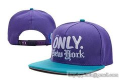 Only NY 2T Logo Snapback Purple Blue|only US$8.90,please follow me to pick up couopons.