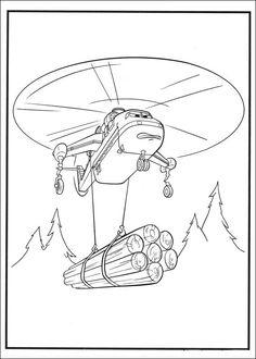 Desenhos para pintar Aviões 51