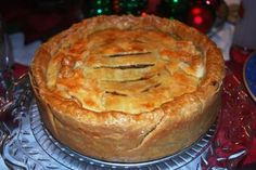 Beef/Veal tourtiere recipe