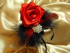 Keepsake Corsage Red Hot by poseysandpetals on Etsy