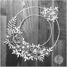 Might be worth paying for but its not for production Kirigami, Paper Cutting Patterns, Paper Cutting Templates, Machine Silhouette, Flower Circle, Flower Frame, 3d Laser Printer, Photo Frame Design, Laser Art