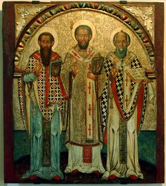 The Three Hierarchs of Eastern Christianity refers to Basil the Great (aka Basil of Caesarea), Gregory the Theologian (aka Gregory of Nazianzus) & John Chrysostom. They were highly influential bishops of the early church who played pivotal roles in shaping Christian theology. In Eastern Christianity they aka the Three Great Hierarchs & Ecumenical Teachers, while in Roman Catholicism the three are honored as Doctors of the Church. The 3 are venerated as saints throughout Christian…