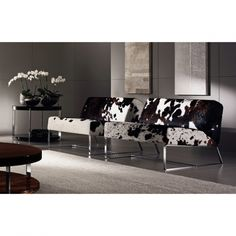 ALLURE LOUNGE CHAIR - COWHIDE