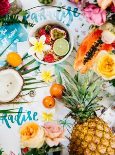 Tropical Breakfast Bar   What To Cook