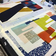 Prints. #textiles #colour #printing #screenprinting #pattern #ND16 @newdesigners