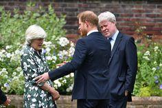 Princess Diana Brother, Prince William And Harry, Prince Harry, Dianas Brother, Lady Sarah Mccorquodale, Diana Statue, Spencer Family, United Kingdom, England