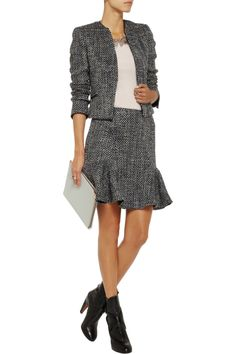 Iris & Ink Bouclé-tweed jacket - Exclusively for THE OUTNET