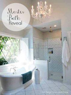 Master Bath Reveal -